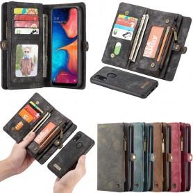 Multiplånbok CaseMe 11 kort Samsung Galaxy A20e (SM-A202F)