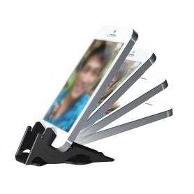Portabelt mobilställ - Svart