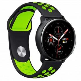 EBN Armband Samsung Galaxy Watch Active 2 - Svart/grön