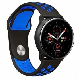 EBN Armband Samsung Galaxy Watch Active 2 - Svart/blå