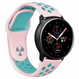 EBN Armband Samsung Galaxy Watch Active 2 - Rosa/mint