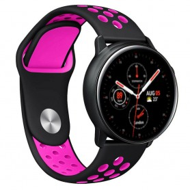 EBN Armband Samsung Galaxy Watch Active 2 - Svart/rosa