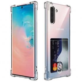 Silikon skal med kortplats Samsung Galaxy Note 10 (SM-N970F)