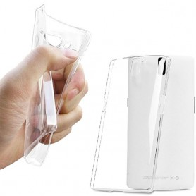 OnePlus One silikon skal Transparent