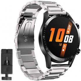 Armband rostfritt stål Huawei Watch GT2 - Silver