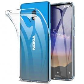Silikon skal transparent Nokia 2.2 (TA-1183)