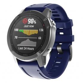 Sport Armband Garmin Fenix 6S - Marinblå