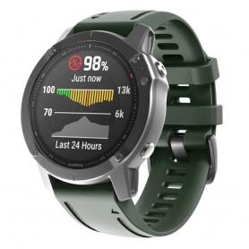 Sport Armband Garmin Fenix 6S - Mörkgrön