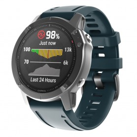 Sport Armband Garmin Fenix 6S - Gråblå