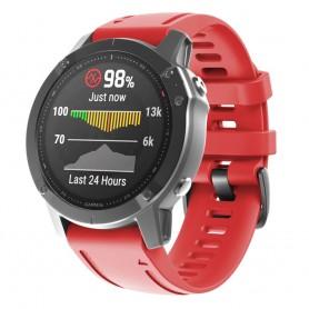 Sport Armband Garmin Fenix 6S - Röd