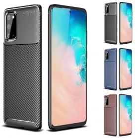 Carbon silikon skal Samsung Galaxy S20 (SM-G981F)