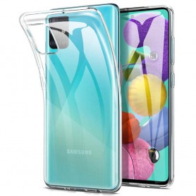 Silikon skal transparent Samsung Galaxy A51 (SM-A515F)