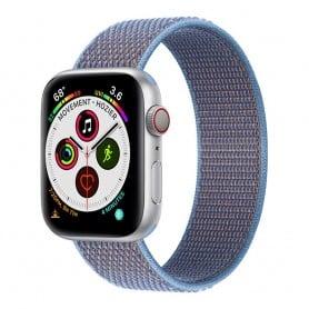 Apple Watch 5 (40mm) Nylon Armband - Cerulean