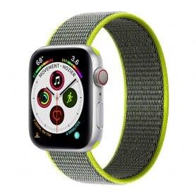 Apple Watch 5 (40mm) Nylon Armband - Flash