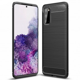 Borstat silikon skal Samsung Galaxy S20 (SM-G980F)