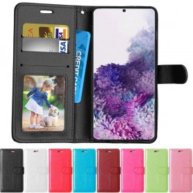 Mobilplånbok 3-kort Samsung Galaxy S20 (SM-G980F)