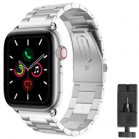 Armband rostfritt stål Apple Watch 5 (40mm) - Silver