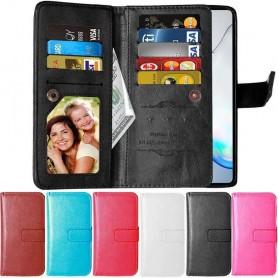 Dubbelflip Flexi 9-kort Samsung Galaxy Note 10 Lite (SM-N770F)