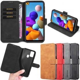 DG-Ming mobilplånbok 3-kort Samsung Galaxy A21s (SM-A217F)