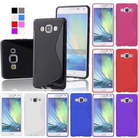 S Line silikon skal Galaxy A7