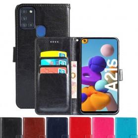 Mobilplånbok 3-kort Samsung Galaxy A21s (SM-A217F)