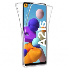 360° heltäckande silikon skal Samsung Galaxy A21s (SM-A217F)