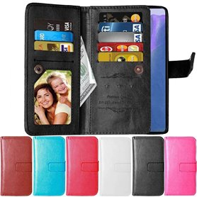 Dubbelflip Flexi 9-kort Samsung Galaxy Note 20 Ultra