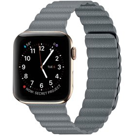 Apple Watch 5 (44mm) Leather loop band - Stone