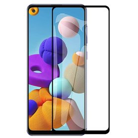 9D Glas Skärmskydd Samsung Galaxy A21s (SM-A217F)