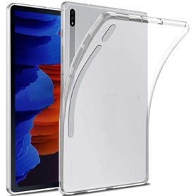 Silikon skal transparent Samsung Galaxy Tab S7 Plus