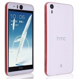 HTC Desire EYE silikon skal transparent
