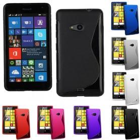 S Line silikon skal Lumia 535