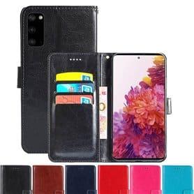 Mobilplånbok 3-kort Samsung Galaxy S20 FE (SM-G780F)