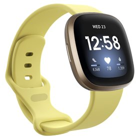 Sport Armband Fitbit Versa 3 - Creamy Yellow