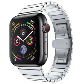 Armband RSF Butterfly Apple Watch 5 (40mm) - Silver