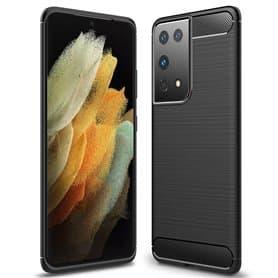Borstat silikon skal Samsung Galaxy S21 Ultra