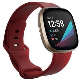 Sport Armband Fitbit Sense - Mörkröd