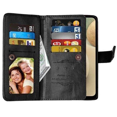 Dubbelflip Flexi 9-kort Samsung Galaxy A12