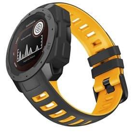 Twin Sport Armband Garmin Instinct - Svart/gul