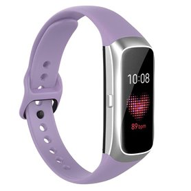 Sport Armband Silikon Samsung Galaxy Fit (SM-R370) - Ljuslila
