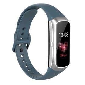 Sport Armband Silikon Samsung Galaxy Fit (SM-R370) - Gråblå