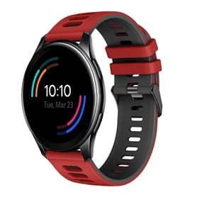 Twin Sport Armband OnePlus Watch 46mm - Röd/svart