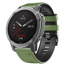 Twin Sport Armband Garmin Fenix 6 / 6 Pro - Grön/svart