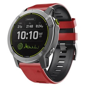 Twin Sport Armband Garmin Enduro - Röd/svart