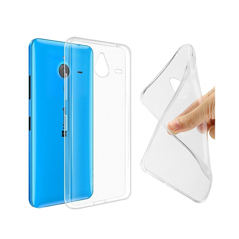Microsoft Lumia 640XL silikon skal transparent 15c7d0a17a755