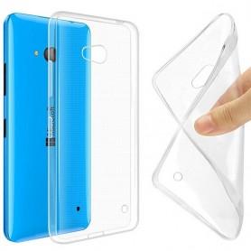 Microsoft Lumia 640 silikon skal transparent