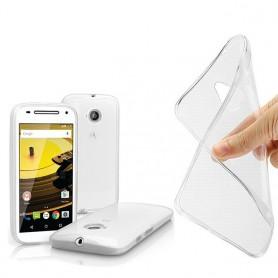Motorola Moto E2 silikon skal transparent