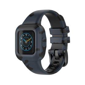 Mönstrat Sport Armband Garmin Vivofit jr. 3 - Mörkgrå