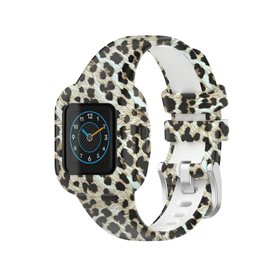 Mönstrat Sport Armband Garmin Vivofit jr. 3 - Leopard