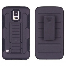 Shock-proof shell with Holster Galaxy S5